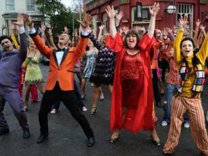 Adam Croasdell, John Partridge, Cheryl Fergison and Shona McGarty Charlie Hawkins |Pictures|Now Magazine| TV News| Celebrity Gossip