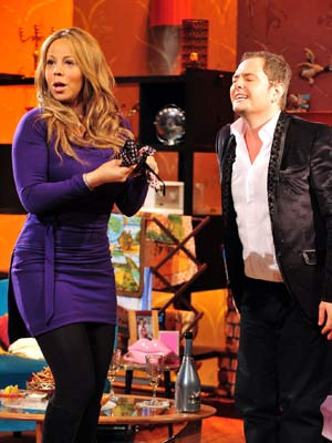Alan Carr and Mariah Carey | Pictures | Now Magazine | Celebrity Gossip