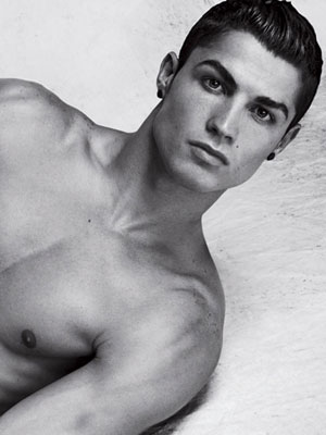 Cristiano Ronaldo| Cristiano Ronaldo strips off for Armani campaign | pictures | now magazine | celebrity gossip