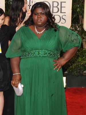 Gabourey Sidibe | Golden Globes | Golden Globe Awards 2010 | Pictures