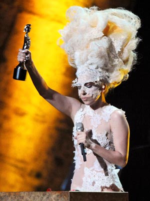 Brit Awards 2010: Lady GaGa| pictures | now magazine | celebrity gossip