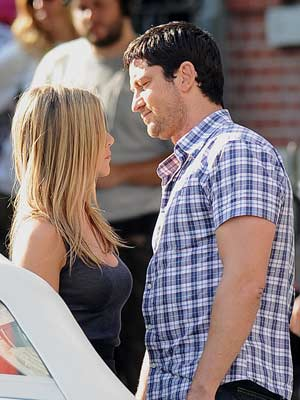 Jennifer Aniston and Gerard Butler | Celebrity Spy | pictures | now magazine | celebrity gossip