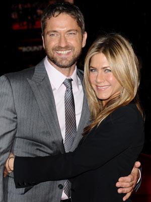 Gerard Butler and Jennifer Aniston | The Bounty Hunter film premiere | Pictures | Now Magazine | Celebrity Gossip