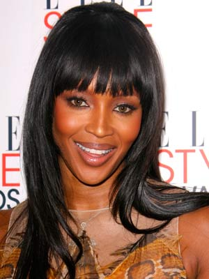 Naomi Campbell  | Celebrity hair | Pictures | New styles | Latest | Hair | Now | Photos | Hairstyles