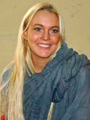 Lindsay Lohan takes charity trip to India | pictures | now magazine | celebrity gossip |