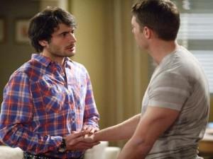 Eastenders: Masood Ahmed sees son's gay kiss