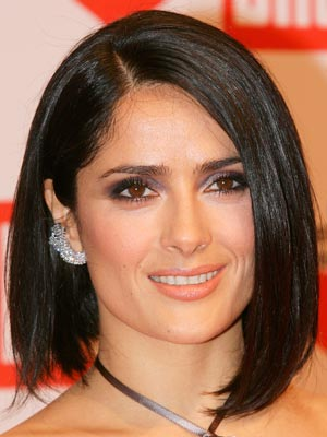 Salma Hayek | Celebrity hair | Pictures | New styles | Latest | Hair | Now | Photos | Hairstyles