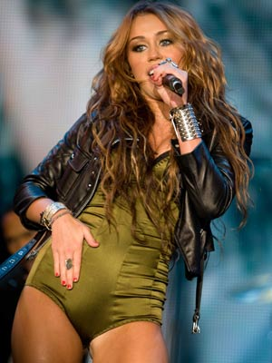 Words... Miley cyrus concert slutty think