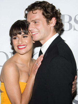 Tony Awards 2010 | Lea Michele and Jonathan Groff | Pics | Photos | Celebrity Gossip | Now Magazine