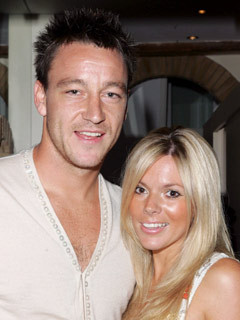 John Terry and Toni Poole