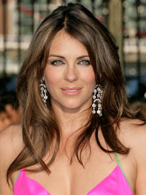 Elizabeth Hurley | Celebrity hair | Pictures | New styles | Latest | Hair | Now | Photos | Hairstyles