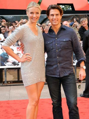 Cameron Diaz and Tom Cruise | Knight And Day premiere in London | Celebrity | New | Now Magazine | Photos | Pics