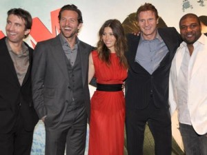 The A Team cast | The A-team premiere in London | Celebrity | New | Now Magazine | Photos | Pics
