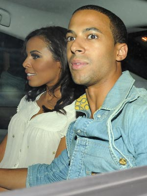 Rochelle and Marvin | The Saturdays party at Mahiki | pictures | now magazine | celebrity gossip