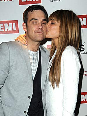 Engaged Celebrities | Engaged Celebrity | Robbie Williams and Ayda Field | Celebrity | Pics | Photos | Now Magazine