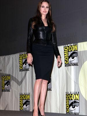 Angelina Jolie | Pencil skirt | Fashion news | Celebrity gossip | Pictures | Now Magazine