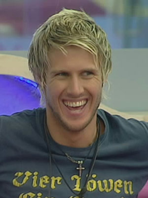Big Brother's John James Parton on Josie, looks and life - 000013466-JOHN_JAMES_LAUGHS
