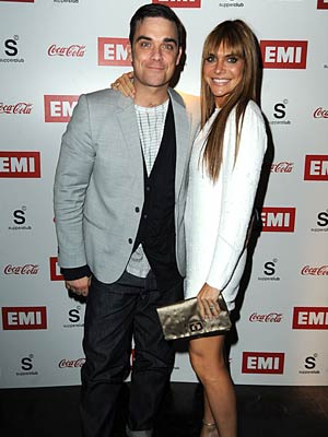 Robbie Williams | Wedding | Fashion News | Now Magazine | Celebrity Gossip | Pictures