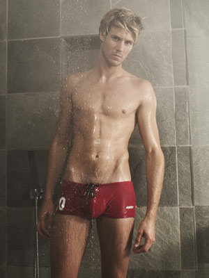 John James Parton strips off for now | Exclusive pictures | (c)  Now magazine