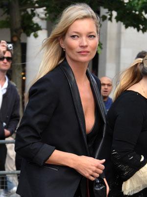 Kate Moss | Alexander McQueen memorial service | Pictures | Now Magazine | Celebrity Gossip