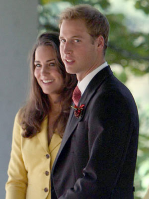 | Pictures | Kate Middleton and Prince William | a Queen in waiting?