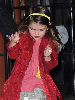 Suri Cruise: I want to be famous as well - CelebsNow