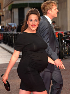natalie cassidy i m so happy pregnancy made me give up