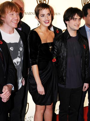 Emma Watson walks the red carpet with Harry Potter co-stars   Pictures   Photos   Film   Stars   Celebrity   Gallery
