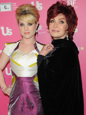 US Weekly's Hot Hollywood Party: Kelly and Sharon Osbourne | Pictures | Celebrity Gossip |