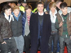 One Direction and Simon Cowell cause mania in Wolverhampton | New Pictures | New Photos | Gallery | The X Factor | Celebrity News |