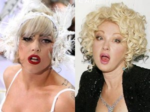 Lady Gaga and Cyndi Lauper | Celebrity lookalikes| Doubles | Pictures | Photos | Pics | Now Magazine