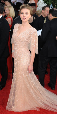 Scarlett Johansson | Golden Globes | Pictures | Photos | New | LA