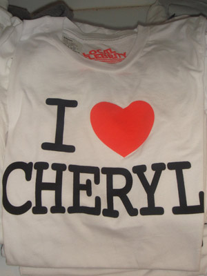 EXCLUSIVE PHOTO I I Heart Cheryl Cole | Kitson | LA