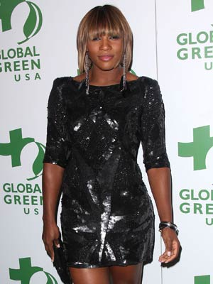 Serena Williams | high street | french connection | fashion | glamour | pics | new | tennis | now | style | star