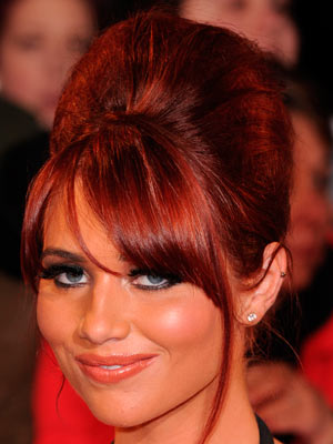 Amy Childs | National Television Awards | TV Awards | Celebrity hair | Pictures | New styles | Latest | Hair | Now | Photos | Hairstyles