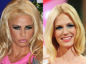 Katie Price and January Jones | same age shockers | pictures | photos | new | now magazine | gallery