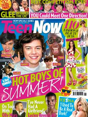 Now Teen Cover June/July 2011