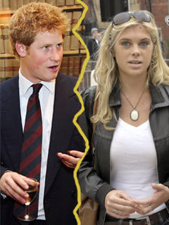 Chelsy Davy dumps Prince Harry