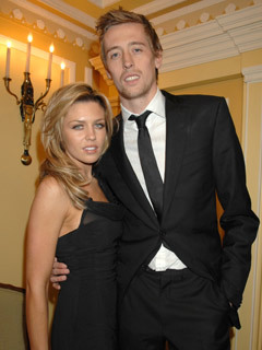 Image result for peter crouch girlfriend