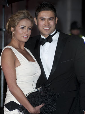 The Sun Military Awards 2010 Chantelle Houghton And Rav Wilding New Pictures
