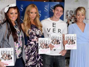 Jessica Wright, Lauren Pope, Kirk Norcross and Lydia Rose Bright | The Only Way Is Essex book signing | Pictures | Photos | New