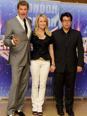 David Hasselhoff, Amanda Holden and Michael McIntyre | Britain's Got Talent | Pictures | Photos | New | Now Magazine