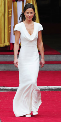 Royal Wedding | Pippa Middleton | Bridesmaid dress | Alexander McQueen | Now Magazine | Pictures