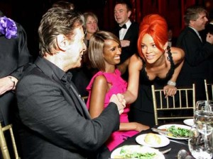 David Bowie, Iman and Rihanna   Celebrity Gossip   Pictures   Photos   Gallery