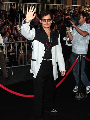 Johnny Depp | Pirates of the Caribbean: On Stranger Tides premiere | Pictures | Photos | New