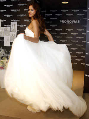 Irina Shayk | Cristiano Ronaldo's girlfriend Irina Shayk makes a beautiful bride at Barcelona Bridal Week | Pictures | Photos | New