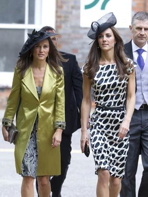 Pippa and Kate Middleton | Sam Waley-Cohen's Wedding Pictures | Photos | New
