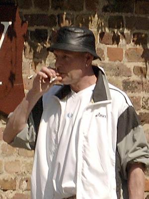 Celebrity smoker: Paul Gascoigne