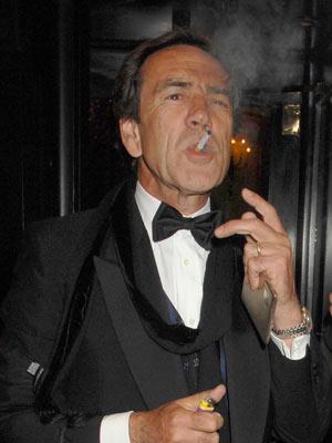 Celebrity smoker: Robert Lindsay