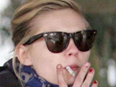 Celebrity smoker: Kirsten Dunst